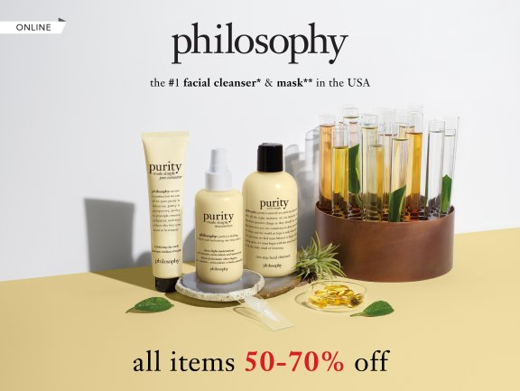philosophy Online Flash Sale