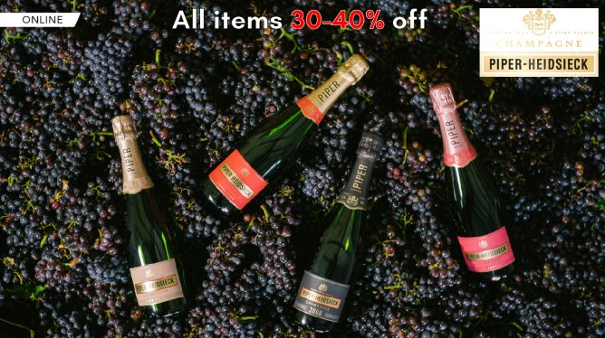 Piper Heidsieck Champagne Online Flash Sale